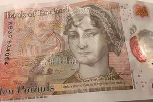 somerset man and great great grandson of charles darwin has no hard feelings about the jane austen £10 note