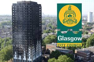 d-day on friday for glasgow city council to reveal buildings with grenfell-style cladding