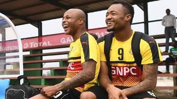 2018 world cup: ghana axe ayew brothers for uganda tie