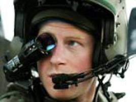 amanda platell defends prince harry's service record