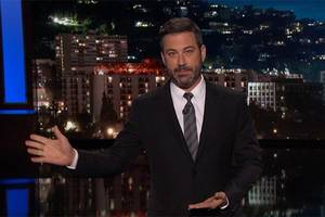 jimmy kimmel on trump's health care vote excuses: 'you're bad at math' (video)