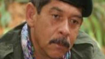 colombian air force kills dissident farc rebel leader