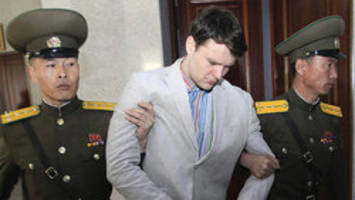 north korea accuses trump admin. of exploiting otto warmbier — u.s. student who died after detention in the asian country