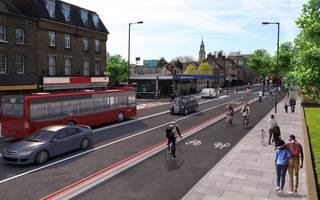 cycle superhighway 4 is coming to south east london: here's how it'll look
