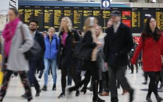 train delays in and out of two major london stations this morning
