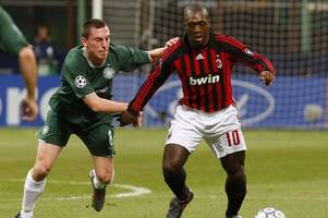 former hibs boss alan stubbs being rivalled for oldham athletic job by clarence seedorf