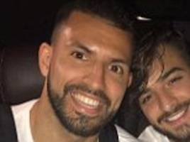 sergio aguero's crash injuries confirmed by pep guardiola