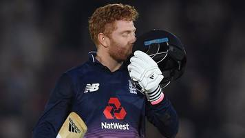 england v west indies: jonny bairstow hits record 141