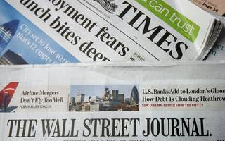 wall street journal stops publishing a europe edition after today