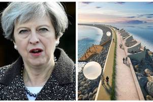 welsh conservatives have united to demand theresa may's backing for the swansea bay tidal lagoon