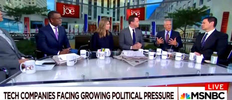 the bombs are still falling - msnbc urges government censorship of social media to protect democracy