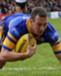 leeds rhino's skipper danny mcguire searching for the perfect grand final farewell