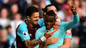 west ham leave it late against swansea