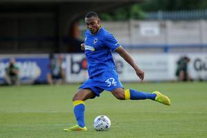 former brentford defender ready to find his scoring boots at afc wimbledon after injury to former crystal palace striker