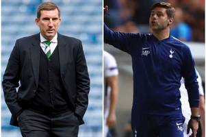 former hibs boss alan stubbs recalls his remarkable encounter with mauricio pochettino as they talked about that famous hampden win