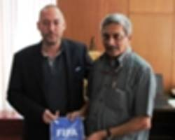 u17 world cup - gfa panels holds parlance with manohar parrikar to refute boycott allegations