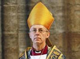 spanking victims demand archbishop welby to resign