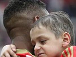 bradley lowery nominated posthumously for sports award