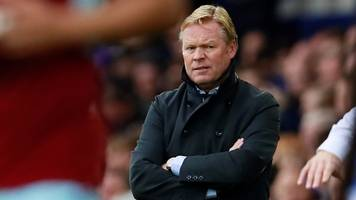 everton 0-1 burnley: ronald koeman not feeling pressure after defeat