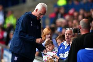 watch as a disappointed ipswich town boss mick mccarthy showers bristol city with compliments