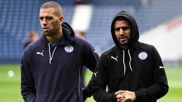 mahrez and slimani left out of algeria squad for world cup qualifier