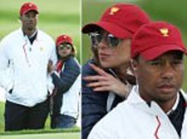 tiger woods' new girlfriend spotted at the presidents cup?