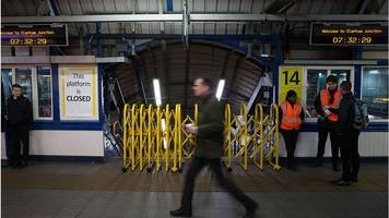 rail travellers face week of strikes on tube and train