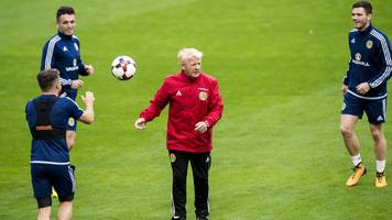 scotland: gordon strachan says the squad has strength in depth