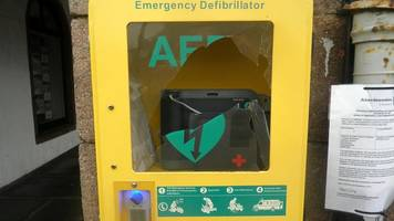 drowning tragedy defibrillator vandalised in stonehaven
