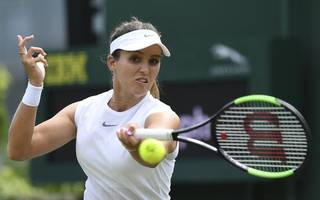 tennis star laura robson caught in las vegas shooting