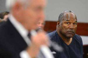 the parole conditions oj simpson must obey after prison release