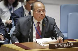 top myanmar official asks for patience with 'young democracy'