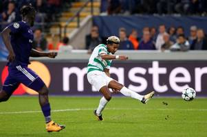 celtic star scott sinclair pipped by gareth bale to champions league award