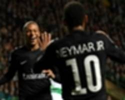 rabiot hails impact of neymar, mbappe and alves at psg