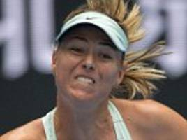 maria sharapova set to face simona halep in china open