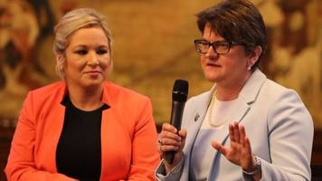 dup-sinn féin clash at conservative conference
