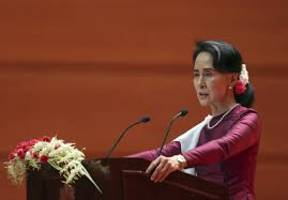 myanmar leader aung san suu kyi stripped of oxford honour over rohingya criticism