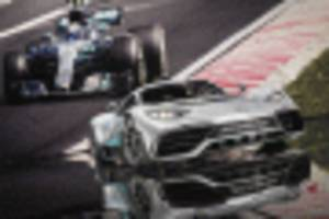 mercedes-amg project one hypercar could be built alongside f1 cars in uk