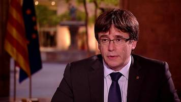 catalonia referendum: puigdemont will declare independence 'in matter of days'