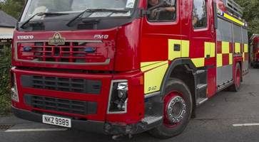 police probe arson attack at house in belfast