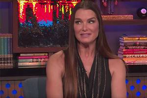 brooke shields says donald trump asked her out by saying 'i'm america's richest man' (video)