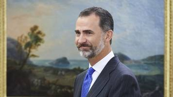 in a rare address, spain's king felipe condemns catalan officials