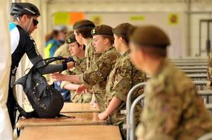 the army has opened a cadet unit in a welsh state school - but a politician is angry