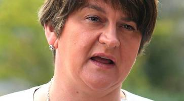 lax security could have seen theresa may knifed, says dup's foster