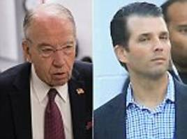 don jr. expected to testify about russia probe in public