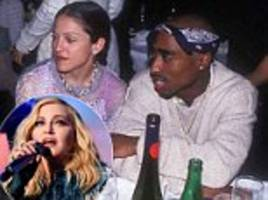madonna refuses to answer if she secretly visited tupac