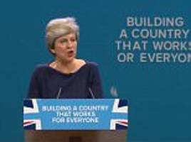 did theresa may steal her speech from the west wing?