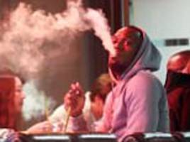 usain bolt spotted smoking shisha and in bristol kfc