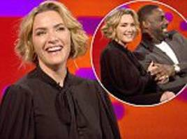 kate winslet reveals idris elba 'has a thing for feet'