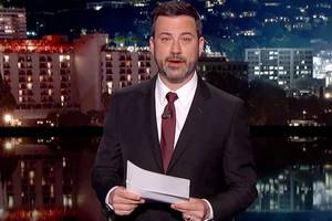 Jimmy Kimmel Praises Trump for Being 'Well-Behaved' During Vegas Visit: 'He Stuck to His Script'
